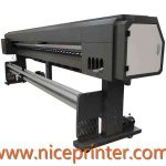 Hot selling 1.8 m WER ES1801 single DX5 print head ,outdoor and indoor vinyl printers for sale