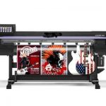 Popular 2.5 m WER ES2502I dual DX7 print head, large format eco printer for sale