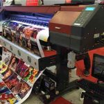 Newest Vivid Printing Quality 1.6m Eco Solvent Printer for sale