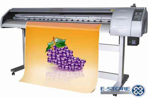 Top design 2.5 m WER-ES2502 1440 dpi Dual DX5 head ,eco solvent vinyl printer for sale