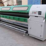 Cheap Out door and Indoor media printing machine WER ES2502I, 2.5m eco solvent printer dx7 for sale