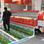Hot selling 3.2m * 1 or 2 PCS DX7 WER ES3202I, 1440DPI 10-15% faster than DX5 heads ,vinyl sticker printing machine for sale