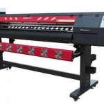 China WER-ES2502 eco solvent printer with dual print heads 8 feet pvc banner printer for sale for sale