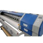Hot selling 3.2m * 1 or 2 PCS DX7 1440DPI WER ES3202I, 10-15% faster than DX5 heads ,high quality eco solvent printer for sale
