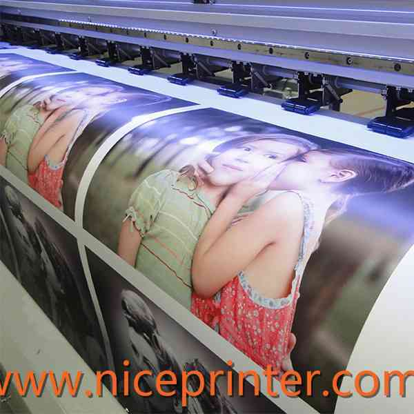 Popular 1.8 m WER-ES1802I with dual DX7 head, eco solvent printing machine for sale
