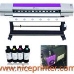 top selling WER ES2502 double DX5 print head, 2.5 m eco solvent printer for sale