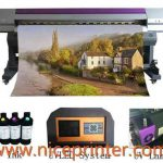 Cheap 2.5m WER-ES2502 eco solvent printer with DX5 print head printer for artist canvas for sale