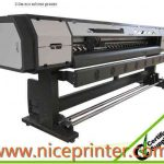 Popular 3.2m eco solvent printer with 2*DX7 heads sticker WER-ES3201I & WER-ES3202I, eco solvent printer for sale