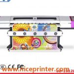 Popular 3.2meter photo paper eco solvent printing machine with DX5 head for sale