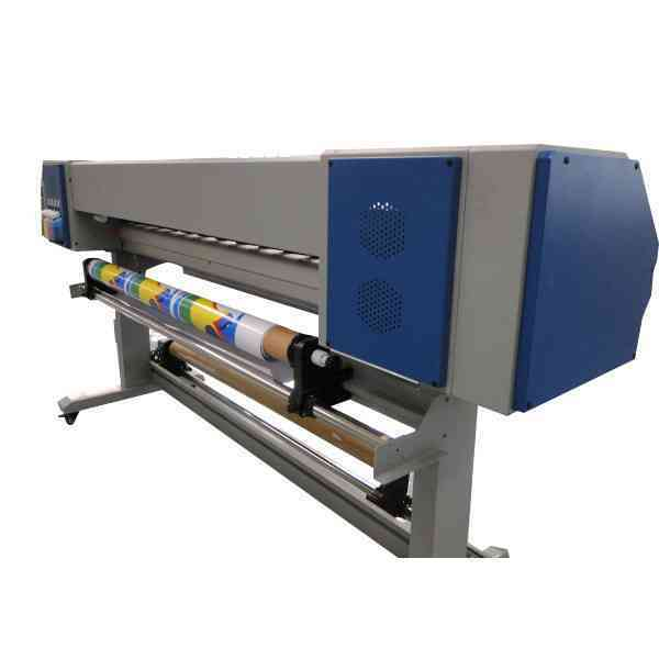New design 2 dx5 printheads WER-ES3202, high resolution 3.2m eco solvent printer for sale