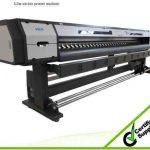 Hot selling 1.8m * 2 PCS DX7 1440DPI high resolution WER ES1802I, digital printing machines stickers for sale
