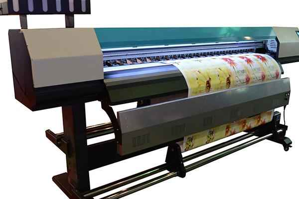 Hot selling A2 printing size 420*1200mm,WER-EH4880UV, water bottle label printer in uae