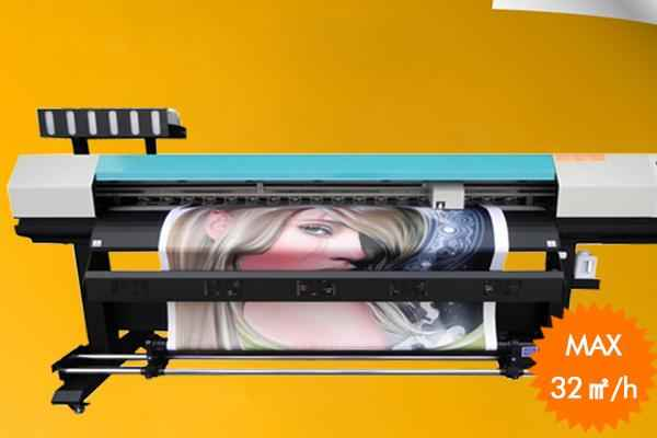 China hot selling GH2220 heads 2 5m UV flatbed printer in