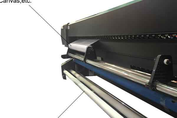 Cheap price A2 size WER-EH4880UV decoration and signs industries flatbed solvent printer in uae