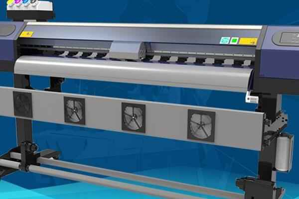 Most reliable 395nm uv led white ink cycling system, A2 WER-EH4880UV tamano Impresora uv in uae