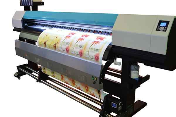 New printing machine WER-E2000UV for all materials printing in uae