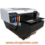 Perfect performance A2 size WER-EH4880UV FLATBED aluminum sheets printing machine in uae