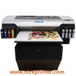 A2 two heads UV LED flatbed printer for any hard materials printing in uae