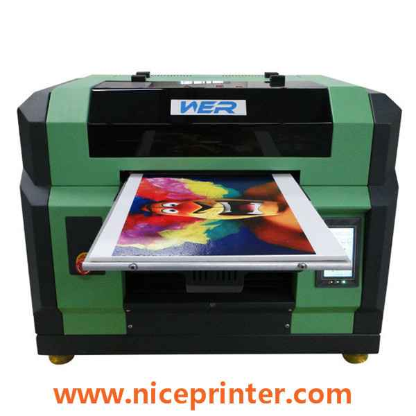 A0 size 2pcs dx5 print-heads uv led flatbed printer small in uae