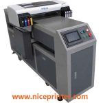 Cheap price A2 size WER-EH4880UV small multi-function flatbed uv printer in uae
