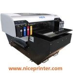 A1 size dtg digital small flatbed printer with 8 colors in uae