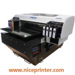 Hot design 3d texture result A3 WER-E2000UV small digital flatbed uv led printer in uae
