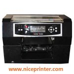 Best quality A2 size WER-D4880UV Flatbed leather Printer printing machine for sale in uae