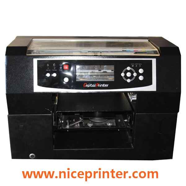 New design CE approved Flaltbed mini printer1467