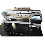 WER New model A1 size Multifunction flatbed uv label printing machines in uae