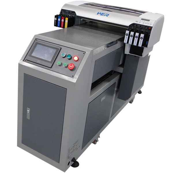 Cheap A2 size 420*1000mm with dx5 print head WER-EH4880UV for rigid materials printing,ball pen printing machine in uae