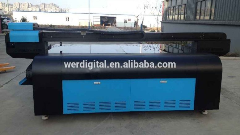 Wide Format UV Flatbed Printer 2513uv with196