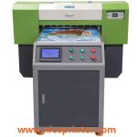 Perfect design for printing cd, phone case, usb drive, key chain A2 size WER-EH4880UV flatbed printer in uae
