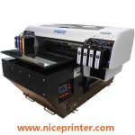 New design two DX5 printheads UV MINI FLATBED PRINTER in uae