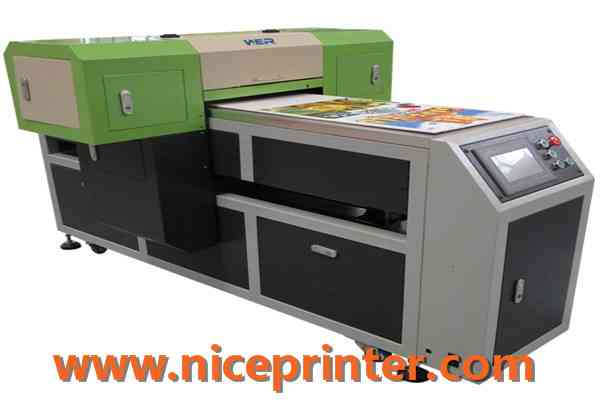 High Speed A2 Two Head Plastic UV Flatbed Printer1041