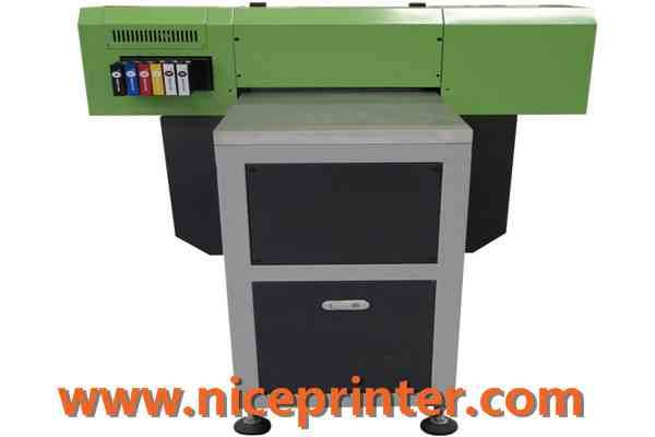 High Speed A2 Two Head Plastic UV Flatbed Printer1037