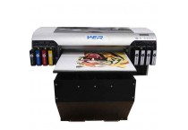 New design a2 uv led flatbed printer with 4880 printhead