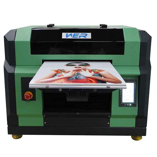 2016 New Model Epson Jet A3 UV LED flatbed printer