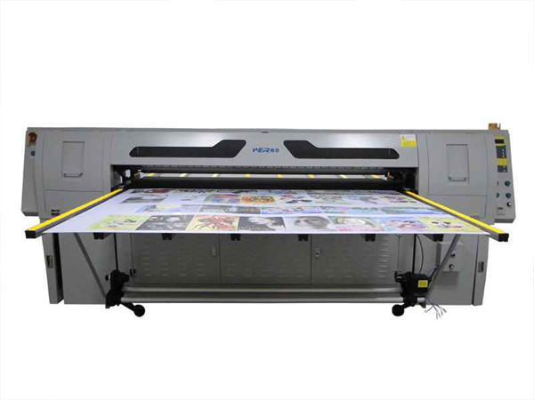 CE certificated 1.8M Belt UV LED Flatbed printer