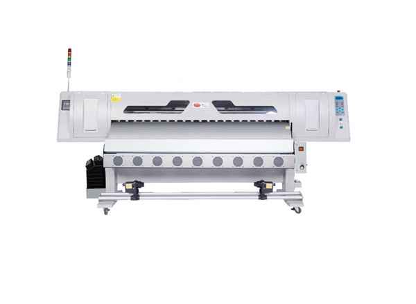 Latest design super cheap WER-R1808 eco solvent printer