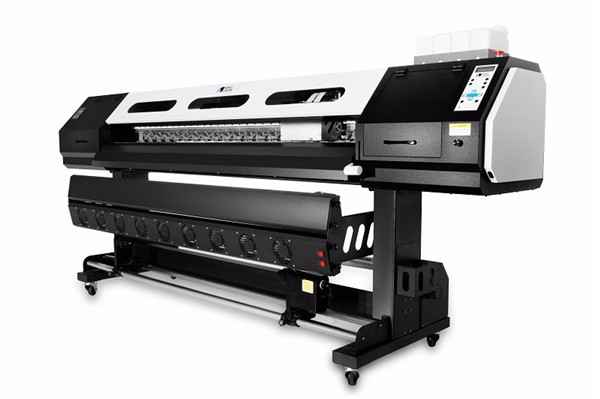 Последни 1.8m 1440dpi Luxury Структура DX5 Head Eco Solvent Printer WER-ES2501I