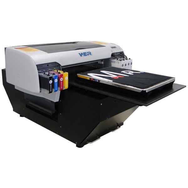 Low price new printer WER-D4880T A2 direct to garment print machine