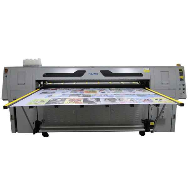 Roll High Quality at rulle & Stiv Sheet LED UV printer For Sale (DX5 Printhead)