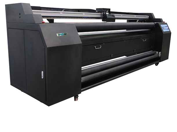China High Quality Cheap WER-E1802T Sublimation Textile Printer for sale