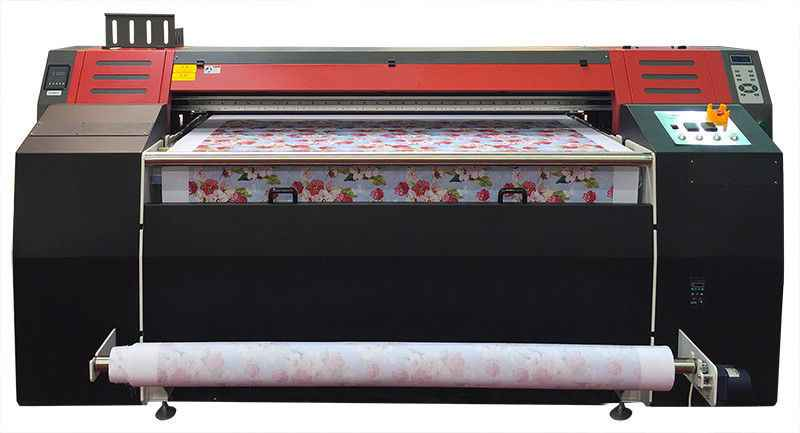 Heavy Duty Dye Sublimation Printing Machine With Two DX7 Head For Sale