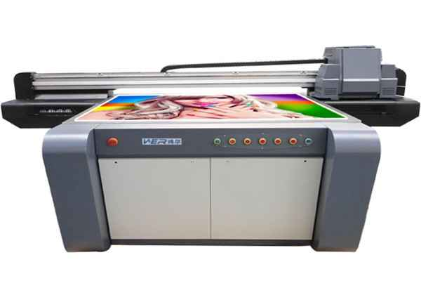 2016 popular WER High Precision A0 uv flatbed printer price hot sale